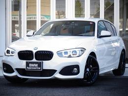 BMW 1シリーズ 118d Mスポーツ エディション シャドー ブラウン革 タッチナビ Bカメラ ACC 黒18AW