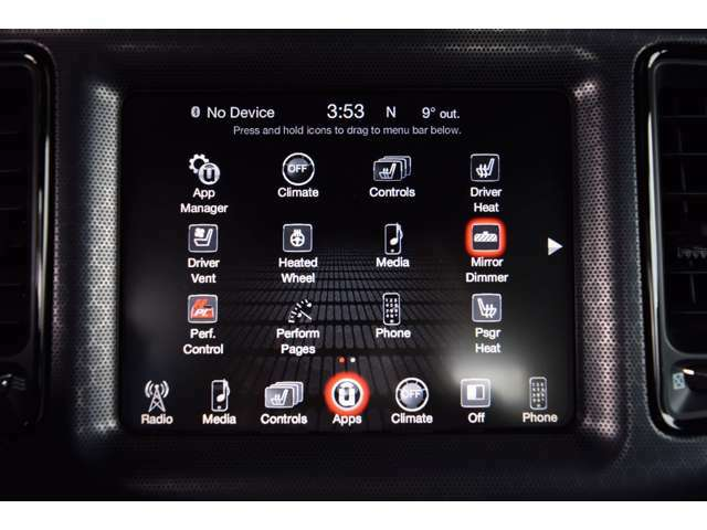 8.4インチタッチパネルスクリーンでは様々な仕様が楽しめます。バックモニターも装備されております。
