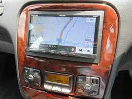 イクリプス高機能SDナビ付♪ナビの動作も確認済みです♪Bluetoothオーディオ、DVD再生、フルセグTV走行中も映ります♪輸入車はナビの取り付けが高額なので最初から付いていたらうれしいですよね♪