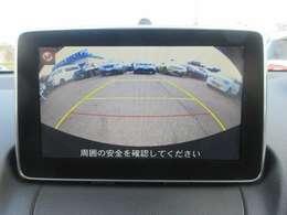 バックカメラ付き!!駐車時も安心です☆