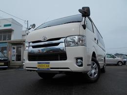 トヨタ ハイエースバン 3.0 DX ロング ディーゼルターボ 4WD 車検1年整備付き渡し 記録簿付き