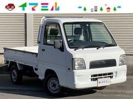 スバル サンバートラック 660 TB 三方開 4WD ワンオーナー 切替4WD 三方開