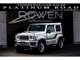 スズキ ジムニーシエラ 1.5 JC 4WD ROWENエアロ リフトアップ 16AWマフラー