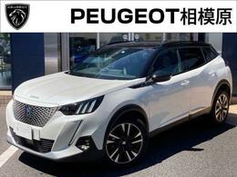 プジョー SUV e-2008 GTライン 純正ナビ ETC ドラレコ 新車保証継承