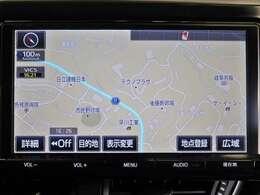 SDナビゲーション付きなので、何時何処でも行きたい場所へ。初めての道でも迷わず安心快適ドライブ出来ます!現在の必需品ですね!!