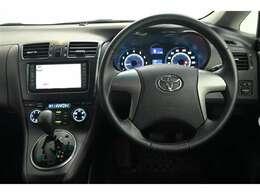 ドライバー目線の画像です。 見やすいメーターと操作しやすいスイッチ類もいいですね☆彡