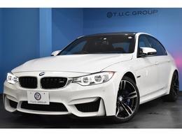 BMW M3セダン M DCT ドライブロジック LEDH&テ-ル 黒革 可変Mサス HUD 2年保証付