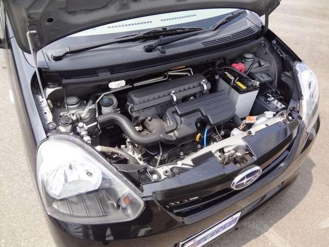 低燃費を実現してくれるこのエンジンに感謝です!!