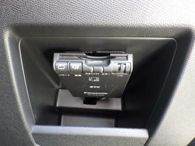 ETC車載器も装備済み。