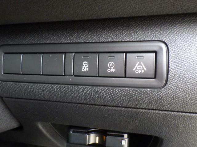 アイドリングストップの切替えスイッチ等も操作しやすい位置にございます。