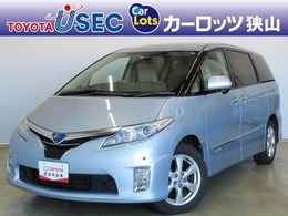 トヨタ エスティマハイブリッド 2.4 G 4WD プリクラッシュS 純正HDDナビ ETC