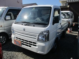 スズキ キャリイ 660 KC エアコン・パワステ 農繁仕様 3方開 4WD 5MT・ナビTV