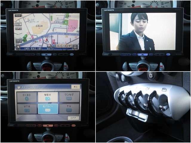 carrozzeriaHDDナビ/フルセグTV/DVD再生/CD録音サ-バ-/必須アイテムETCも装備!!