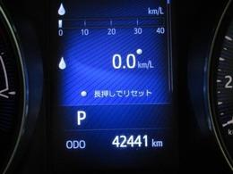 走行距離はおよそ42,000kmです。