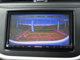バックカメラを装備しています。ガイドライン付で 駐車をサポートします。