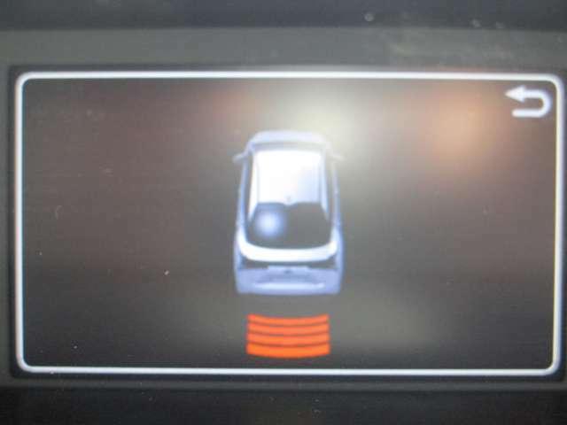 車の周囲への接近を知らせてくれるクリアランスソナー搭載!
