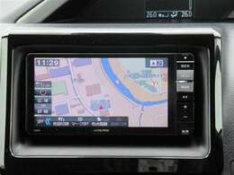 アルパイン700W・フルセグ・SDナビです。CD/DVD・Bluetooth対応です。