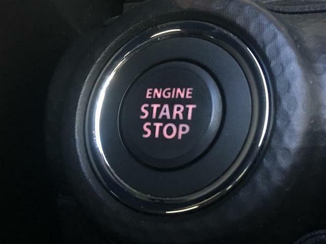 【プッシュスタート】車のキーが鞄やポッケの中にあってもボタンを押せばエンジンが始動します♪