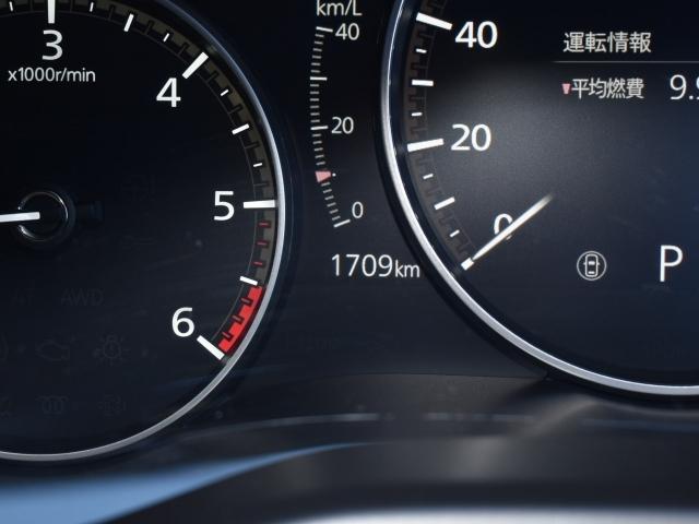 1709kmの少走行車両 内装のクリーニングに外装のコーティングが施工された弊社お勧めのSKYACTIV-ADVANCE車両です。
