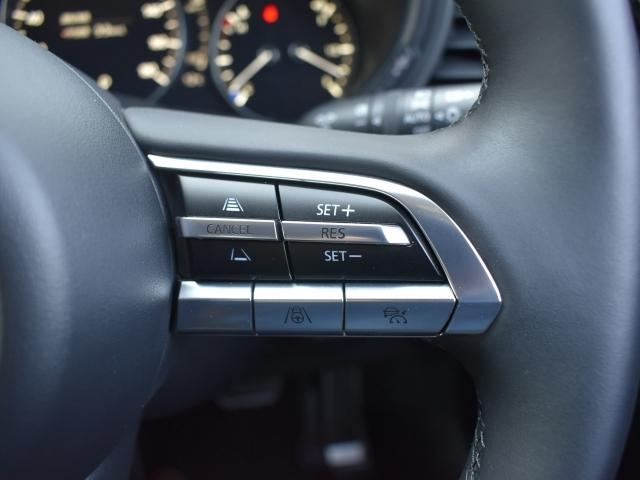 高速道路走行中のドライバーの疲労を軽減させるレーダークルーズコントロール。前方車両を追従し安全な車間を保ちながら走行します。