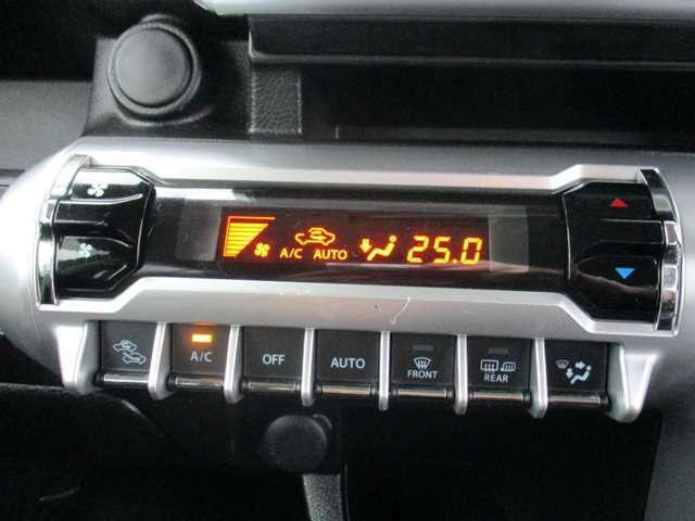 AUTOエアコン付ですので、車内の温度調節も自動です☆☆