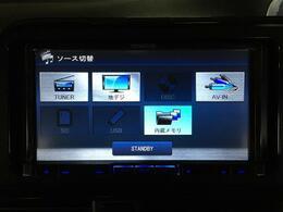 【社外メモリナビ(MDV-626DT)】CD/DVD/MSV/フルセグTV