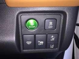 【ECOモード・横滑り防止装置・熱線入りフロントウィンドウ・車両接近警報装置・衝突軽減ブレーキ・路外逸脱抑制システム】