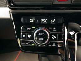 ◇オートエアコン 好みの温度をセットするだけで、強さや風量を自動で調整します。