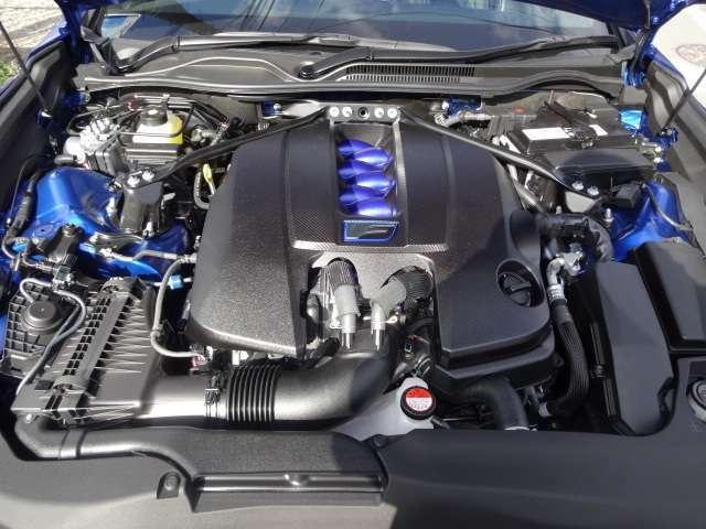 V8 5.0L  477PS