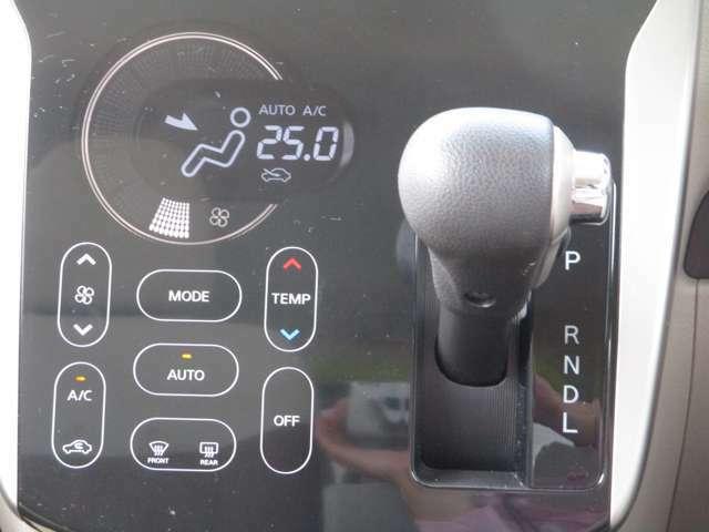 扱いやすいタッチパネル式のフルオートエアコンです!!
