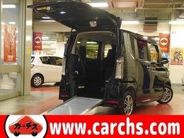 ホンダ N-BOX+ 660 カスタムG 車いす仕様車 4WD 1オーナー 衝突軽減 電動ウィンチ スロープ