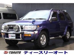 日産 テラノ 3.3 ワイド R3m-R 4WD サンルーフ/禁煙車/純正AW/グリルガード