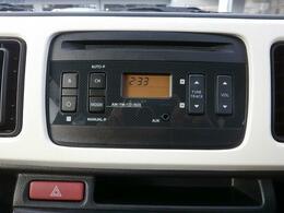ドライブのお供には音楽ですよね♪『FM,AMラジオ付CDステレオ』が標準装備です♪
