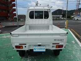キャビンの下は、荷台!草刈り機や脚立が載せられるので便利です。