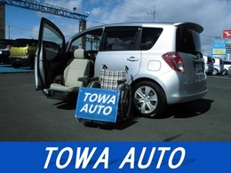 トヨタ ラクティス 1.5 G ウェルキャブ 助手席リフトアップシート車 Aタイプ リモコン付