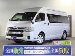 トヨタ ハイエースバン キャンピング カスタムセレクト ロードセレクト ホワイトローズ 4WD