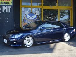 トヨタ クラウンハイブリッド 3.5 スタンダードパッケージ カールソン19インチ/新品車高調/HDDマルチ