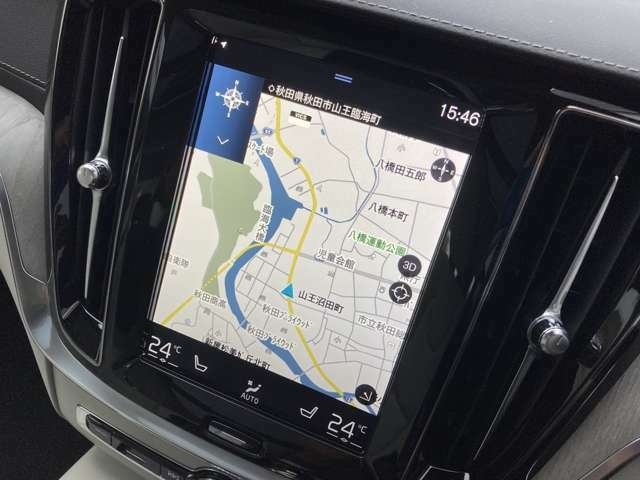 タッチスクリーン式センターディスプレイ!スマホを扱うように自然な操作でナビ・オーディオ・車両設定などの機能を利用できます。