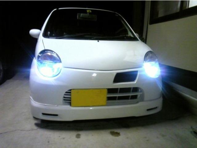 Aプラン画像:純白で明るいポジション灯で車に新しさとバッテリーの負担を減らします!