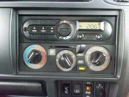 【マニュアルエアコン】ダイヤル式なので操作がシンプル!どなたでも使いやすいです!AM・FMラジオ♪