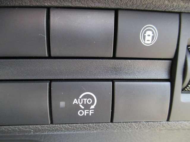 アイドルストップ付きで燃費向上。