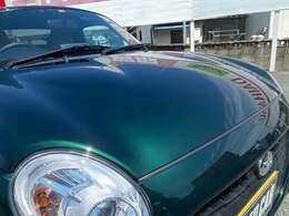 新車購入時に、当社でキーパーコーティングを施工させていただいておりますので塗装の状態も良好です。