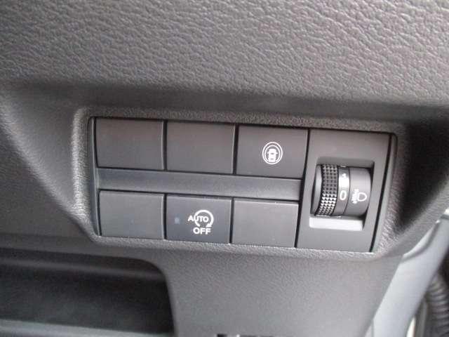 アイドリングストップ機能OFFスイッチ。作動させたくないときに押してください