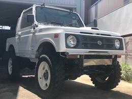 スズキ ジムニー 660 フルメタルドア CC 4WD リフトアップ公認/社外アルミ・タイヤ