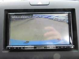 社外メモリーナビ付き♪ 広角のバックカメラ付きになりますので、駐車も安心ですね♪