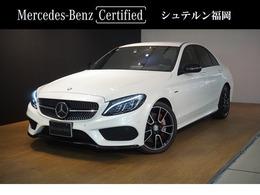 メルセデス・ベンツ Cクラス C450 AMG 4マチック 4WD エクスクルーシブP 赤革 認定保証1年付