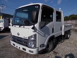 日産 アトラス 1.9t積・ハイキャブ・Wキャブ・6人乗・5MT 車両総重量 4820kg