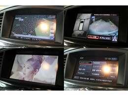 純正HDDナビTV装備です!DVDビデオの再生やCDの録音機能もあります。Bluetoothも接続可能です。純正アラウンドビューモニター装備です。