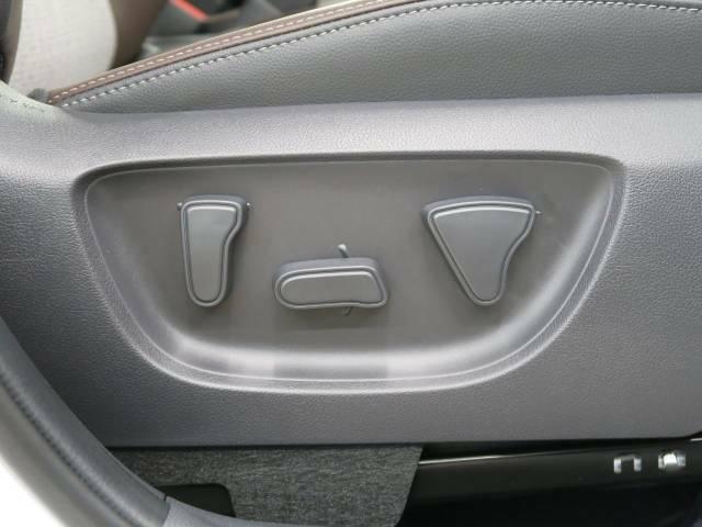 パワーシート最適なシートポジションを提供し、疲れにくくより快適にお乗りいただけます!