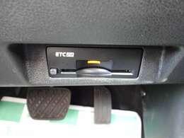 ETC画像になります。スッキリとしたビルトインETC純正ナビゲーション連動になります